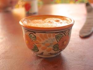 ハシータの作る、伝統のチョコラテ